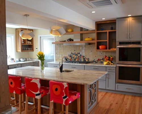 Cabinets By Cabico Kitchen with Gray Cabinets Design Ideas & Remodel Pictures | Houzz