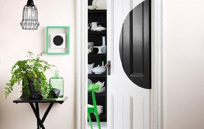 Mit Farben und Mustern: So kann man Türen kreativ gestalten