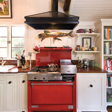 Eclectic Kitchen by RTE Cabinets & Millwork