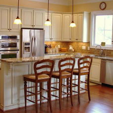 traditional kitchen cabinets by Fein Cabinetry
