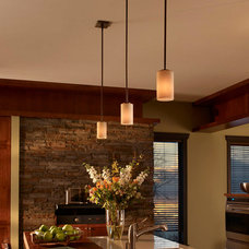 eclectic kitchen by Littman Bros Lighting