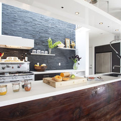 eclectic kitchen by Feldman Architecture, Inc.