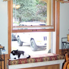 Traditional Kitchen by Window Expressions by Janet