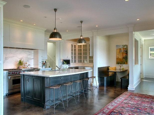 Traditional Kitchen by Christian Gladu Design