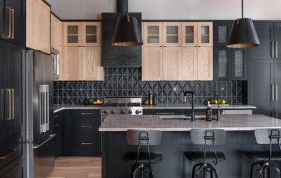 New This Week: 7 Stylish Kitchens With Bold Black Cabinets