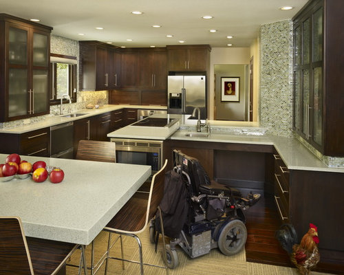 Wheelchair Accessible Small Shower Home Design Ideas Pictures Remodel And D