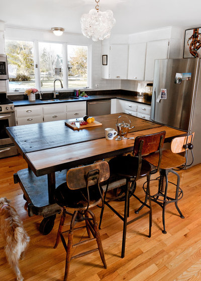 Eclectic Kitchen By Landing Design