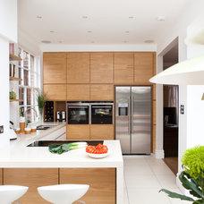 Contemporary Kitchen by Hamilton King