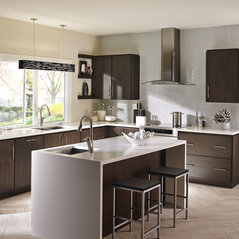 Fieldstone Cabinetry Contemporary Lyptus Kitchen In.