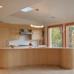 contemporary kitchen by Helios Design Group