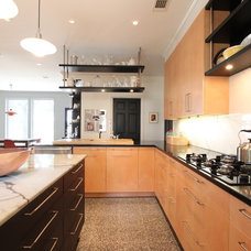 Contemporary Kitchen by Jim Farris Cabinets