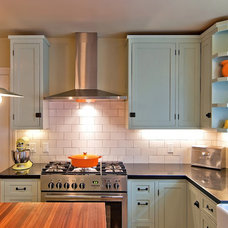 Eclectic Kitchen by McCaffrey Custom Construction, Inc.