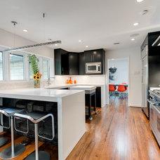 Contemporary Kitchen Finish House