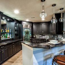 Transitional Kitchen by M.J. Whelan Construction