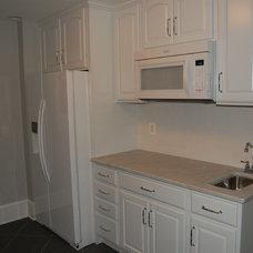 Traditional Kitchen Finished Basement Kitchen Pantry