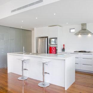 Finished Modern Beverly Hills Kitchen Remodel