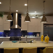 Eclectic Kitchen by Maxim Lighting International