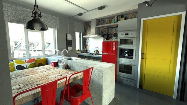 Industrial Kitchen by Arco Design