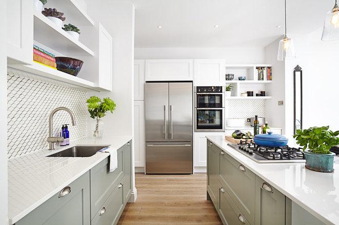 Transitional Kitchen by Create Bespoke