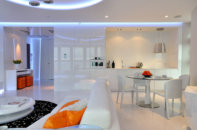 Contemporary Kitchen by Planika Fires