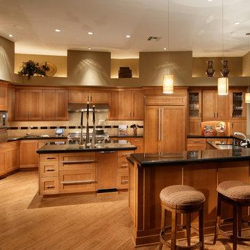 FireRock  Custom Home Warm Modern