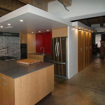 First Avenue Lofts - Kitchen