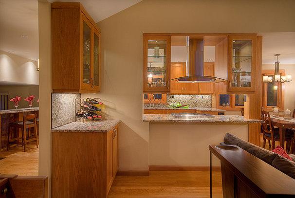 Contemporary Kitchen by Six Walls Interior Design