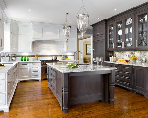 Two Tone Kitchen Cabinets Ideas Pictures Remodel And Decor