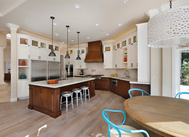 Traditional Kitchen by TRG Architects