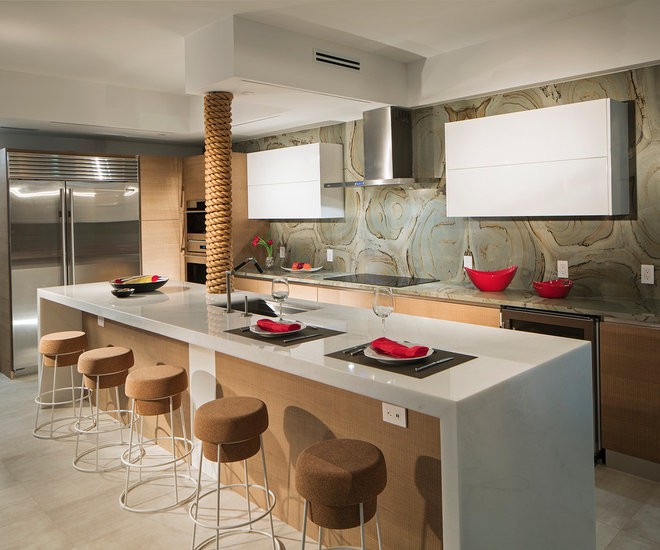 Contemporary Kitchen by Mike Butler Photography