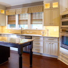 Traditional Kitchen by Interior Design Solutions by Maria, Inc.
