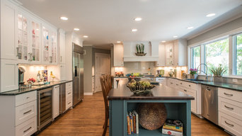 Fishers,IN Kitchen expansion and Exterior Transformation