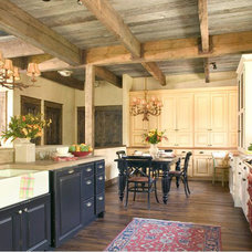 Rustic Kitchen by Coburn Development