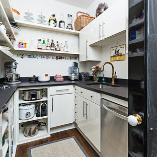 75 Beautiful U-Shaped Kitchen Pantry Pictures & Ideas | Houzz