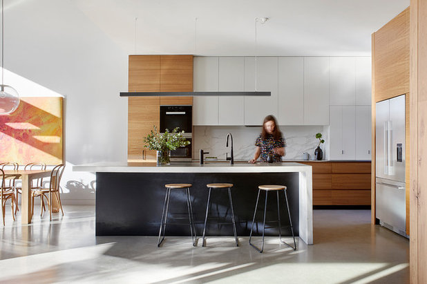 Contemporary Kitchen by BENT Architecture