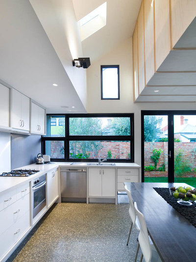 Contemporary Kitchen by Architecture Matters Pty. Ltd.
