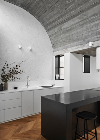 Contemporary Kitchen by Taylor Knights