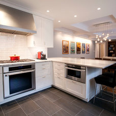 Contemporary Kitchen by A2 Architect, PC