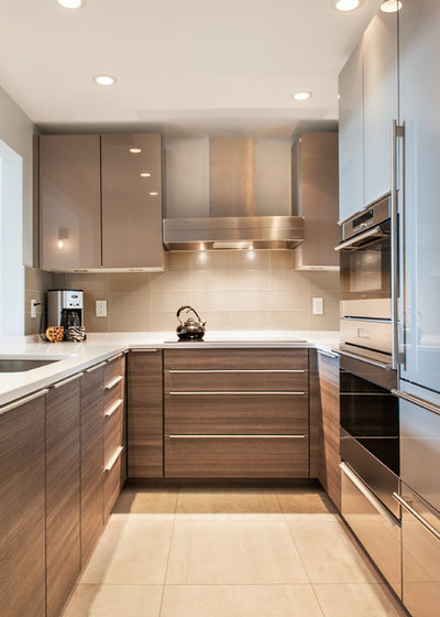 Contemporary Kitchen by Lee Kimball