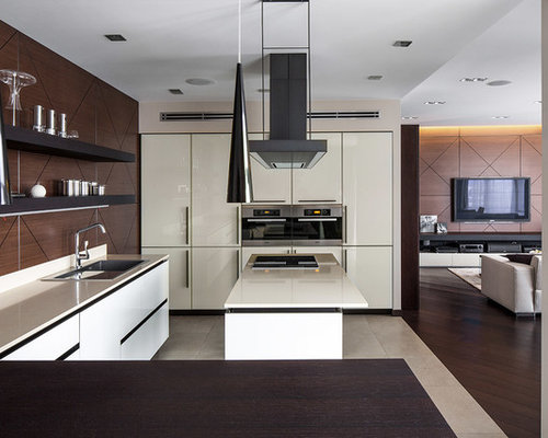 Wenge kitchen design ideas remodel pictures houzz for Wenge kitchen designs
