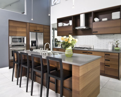 Wenge Kitchen Cabinets - Omega Cabinetry