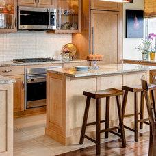 Contemporary Kitchen by John A. Buscarello, ASID