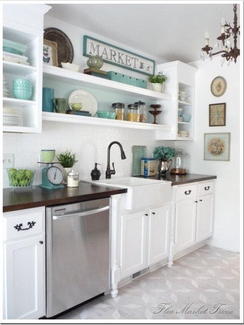 shelves above kitchen sink 2