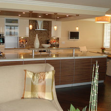 Contemporary Kitchen by Russell