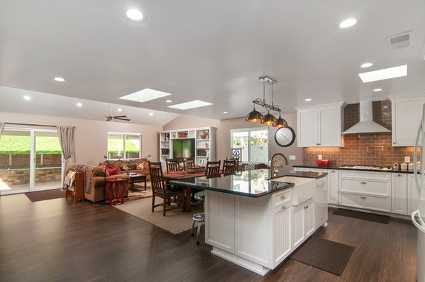 Transitional Kitchen by Mathis Custom Remodeling