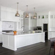 Contemporary Kitchen by Nouvelle Cuisine