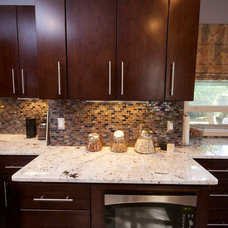 Contemporary Kitchen by ABK Today