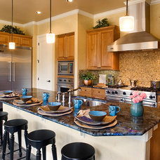 Mediterranean Kitchen by Infinity Design, Inc.