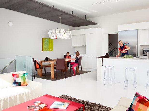 Modern Kitchen by Fougeron Architecture FAIA