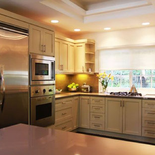 Contemporary Kitchen Ideas   Example Of A Trendy Kitchen Design In Los  Angeles